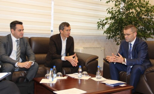 Governor Mehmeti hosted in a meeting the World Bank representatives